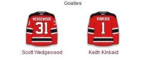 Devils Goalies