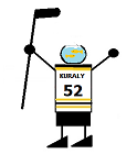 Sean Kuraly w/fish bowl