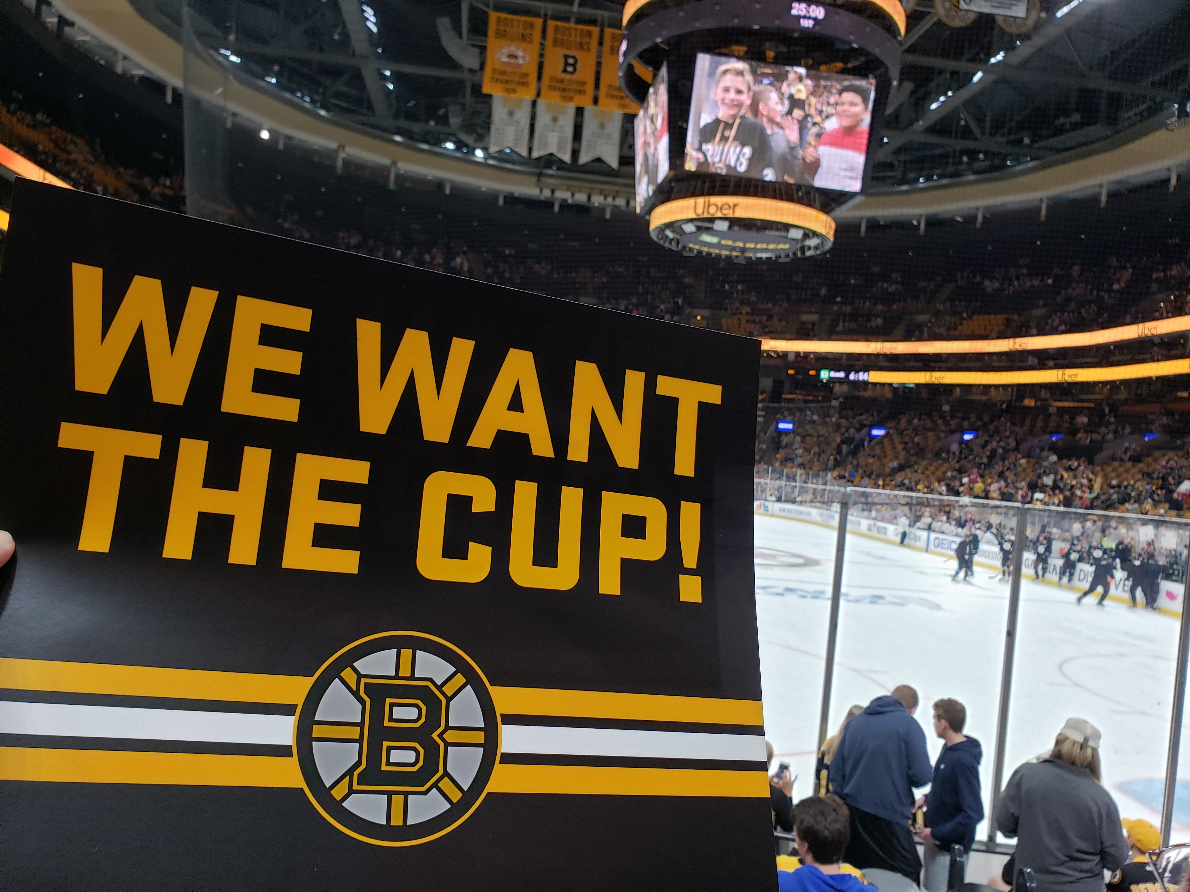 We Want The Cup